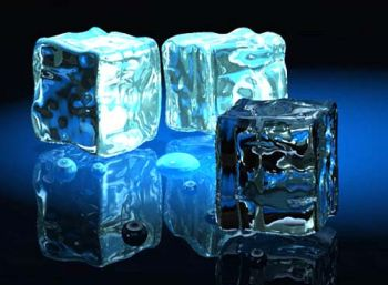 دوش آب سرد, یخ درمانی