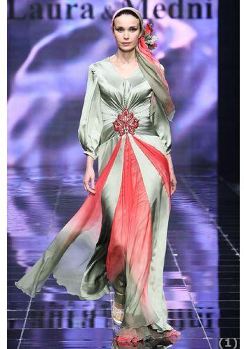 مدل های جديد لباس مجلسی پوشیده 2013