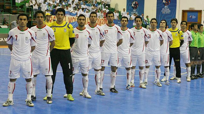 ایران نامزد بهترین تیم ملی فوتسال دنیا